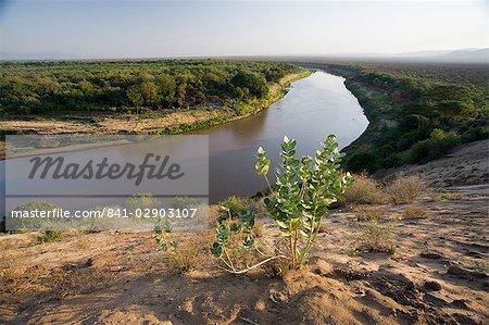Omo River, Lower Omo Valley, southern Ethiopia, Ethiopia, Africa