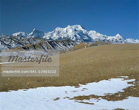 Mont Shishaoangma, 8038m, Tibet, Chine, Asie