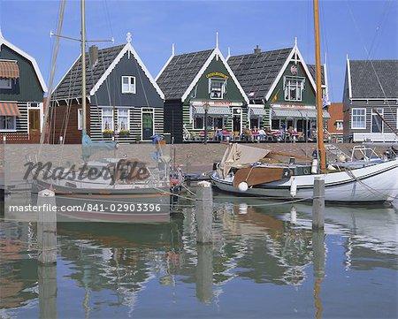 Traditional fishing village, Marken, Holland (The Netherlands), Europe