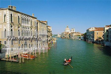 Le Grand Canal, Venise, Vénétie, Italie