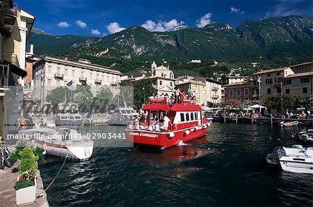 Malcesine, lac de garde, Veneto, Italie, Europe