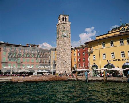 Riva del Garda, Lago di Garda, lacs italiens, Italie, Europe