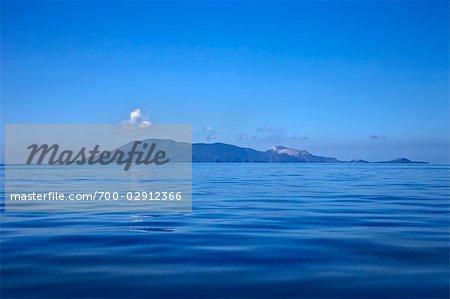 Iles Eoliennes, mer Tyrrhénienne, Sicile, Italie