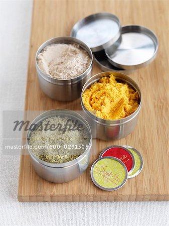 Tins of Seasoning Salts