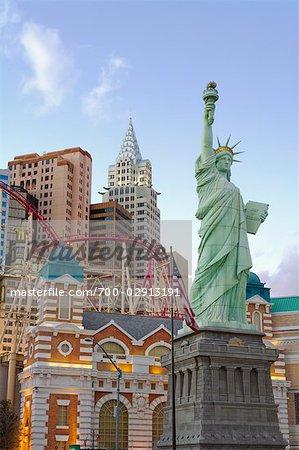 New York New York Hotel & Casino, Paradise, Las Vegas, Nevada, USA