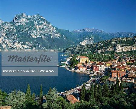 Torbole, Lago di Garda, Lombardia, Italie, Europe