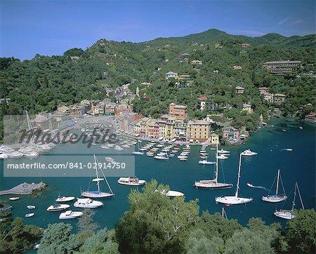 Portofino, Riviera di Levante, Riviera italienne, Ligurie, Italie, Europe