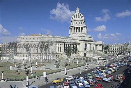 Capitolio Nacional (Capitol) de construction, Centro Havana, la Havane, Cuba, Antilles, Amérique centrale