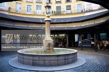 Plaza Redonda, 1836, Valence, Espagne, Europe