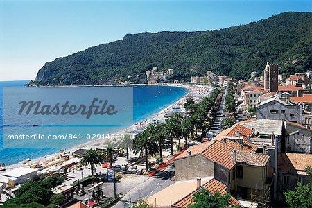 Noli, Riviera des palmiers, Riviera italienne, Ligurie, Italie, Europe