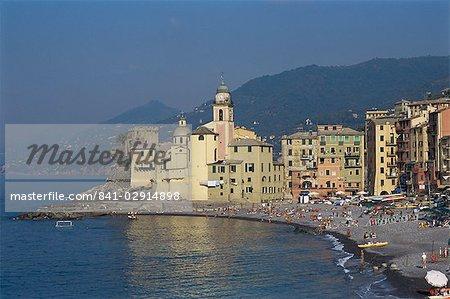 Camogli, Riviera italienne, Ligurie, Italie, Europe