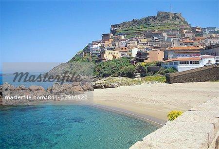 Castelsardo, Sardinia, Italy, Mediterranean, Europe