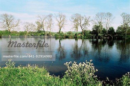 Tamise, Medmenham, Buckinghamshire, Angleterre, Royaume-Uni, Europe