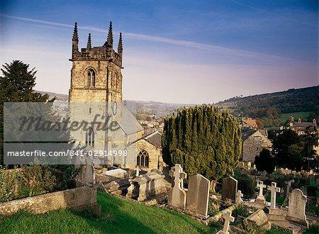 Matlock church, Matlock, Peak District, Derbyshire, England, United Kingdom, Europe