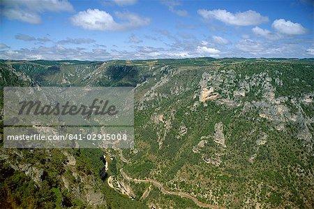 Gorges du Tarn de Roc des Hourtous, Lozère, Languedoc-Roussillon, France, Europe