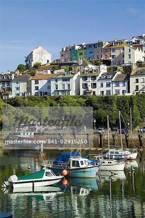 Brixham harbour, Devon, England, United Kingdom, Europe
