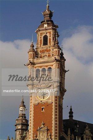 Tour du Nouvelle Bourse (nouvelle monnaie), Lille, Nord, France, Europe