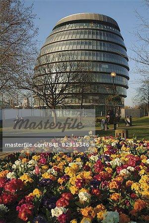 Le bâtiment de l'Assemblée Londres, Bureau du maire de Londres, Londres, Royaume-Uni, Europe