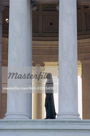 Intérieur, Jefferson Memorial, Washington DC, Staes Unis d'Amérique (États-Unis d'Amérique), Amérique du Nord