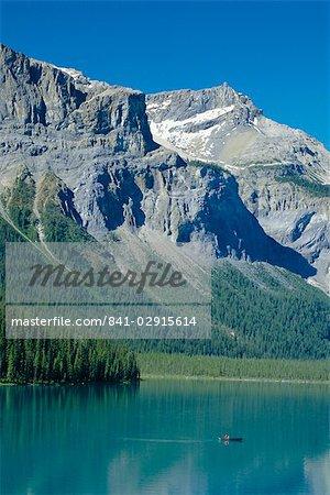 Lac Emerald, Parc National Yoho, montagnes Rocheuses, en Colombie-Britannique, Canada