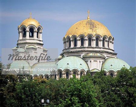 Alexander Nevski cathédrale, Sofia, Bulgarie, Europe