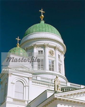 Lutheran cathedral, Helsinki, Finland, Scandinaiva, Europe