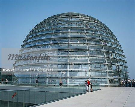 La coupole du reichstag, Berlin, Allemagne