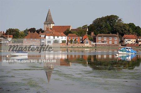 Bosham harbour, près de Chichester, West Sussex, Angleterre, Royaume-Uni, Europe