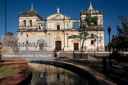 Cathédrale, Leon, Nicaragua, l'Amérique centrale