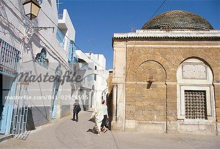 La Medina, Tunis, UNESCO World Heritage Site, Tunisie, Afrique du Nord, l'Afrique