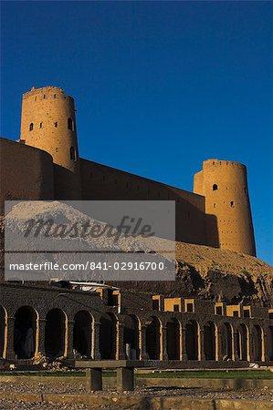 La citadelle (Qala-i-Melias-ud-din), construit par Alexandre le grand, mais dans sa forme actuelle par Malik Fakhruddin dans 1305AD, Herat, Province d'Herat, Afghanistan, Asie