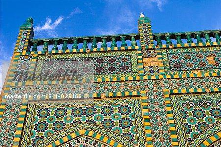 Sanctuaire de Hazrat Ali, qui a été assissinated en 661, Mazar-I-Sharif, Balkh province, Afghanistan, Asie