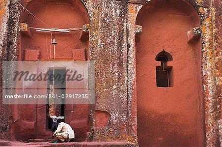 Bet Beta Gabriel-Raphael, Lalibela, UNESCO World Heritage Site, Ethiopie, Afrique