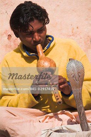 Snake charmer, Patan, Bagmati, Nepal, Asia