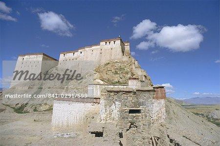 Gyangze Dzong (monastère), Gyaze (Gyantsé), Tibet, Chine, Asie