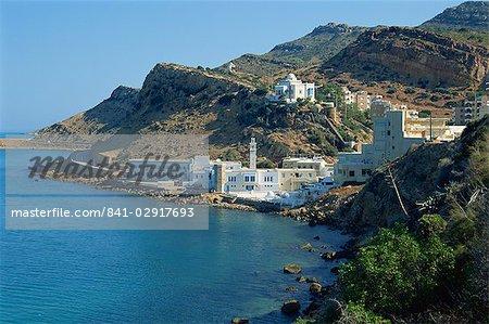 Korbous, ville thermale, de la région du Cap Bon, Tunisie, Afrique du Nord, Afrique