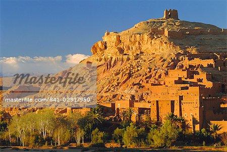 Kasbah Ait Benhaddou near Quarzazate, Morocco, North Africa