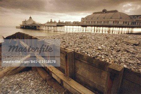Jetée d'Eastbourne, Eastbourne, East Sussex, Angleterre, Royaume-Uni, Europe
