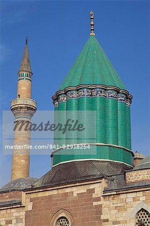Mevlana Müzesi, Konya, Anatolie, Turquie, Asie mineure, Eurasie