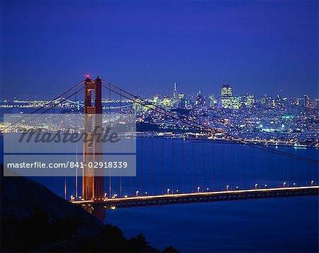 Le Golden Gate Bridge, San Francisco, Californie, États-Unis d'Amérique, l'Amérique du Nord