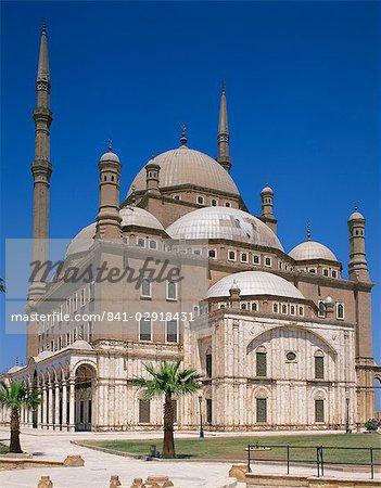 La mosquée de Mohammed Ali, le Caire, en Égypte, en Afrique du Nord, l'Afrique