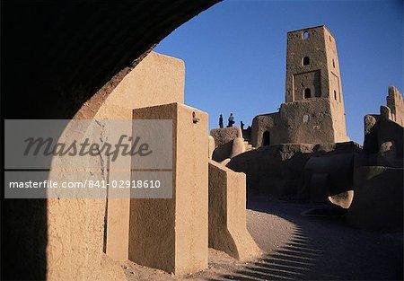 Arg-e Bam, la citadelle intérieure, Bam, Iran, Moyen-Orient
