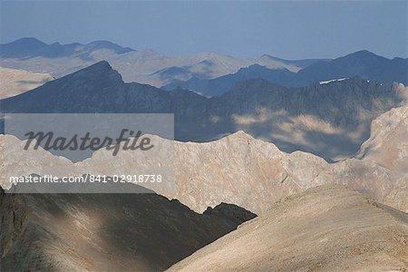 Vue sur le Plateau de Yedigoller du Mont Embler, monts Taurus, Anatolie, Turquie, Asie mineure, Eurasie