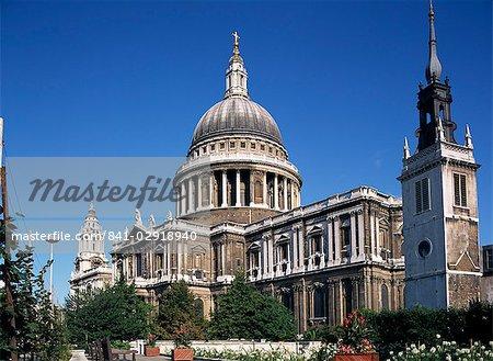 St. Paul cathédrale, Londres, Royaume-Uni, Europe