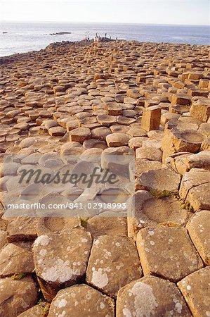 Chaussée des géants, le comté d'Antrim, en Irlande du Nord, Royaume-Uni, Europe