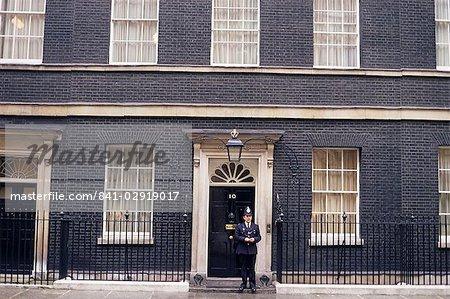 Prime Minister's London Wohnsitz, 10 Downing Street, Westminster, London, England, Vereinigtes Königreich, Europa