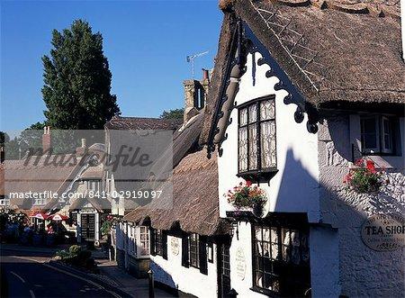 Vieux village, Shanklin, Isle of Wight, Angleterre, Royaume-Uni, Europe