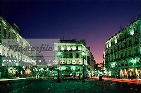 Plaza Puerta del Sol, Madrid, Espagne, Europe