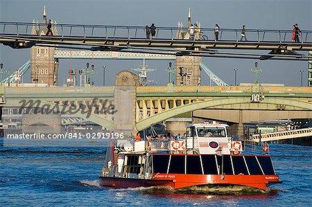 Brücken über die Themse, London, England, Vereinigtes Königreich, Europa