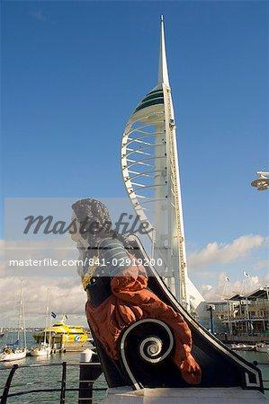 Tour Spinnaker, Portsmouth, Hampshire, Angleterre, Royaume-Uni, Europe